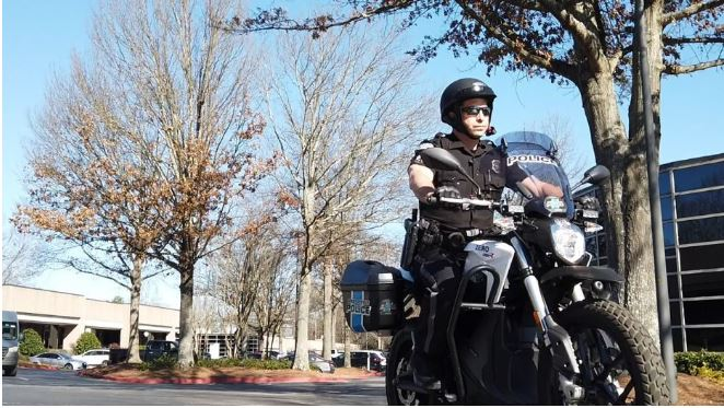 Sandy Springs Police add electric motorcycles for crime prevention